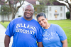 Lee and Karen on Dillard's Avenue of the Oaks.