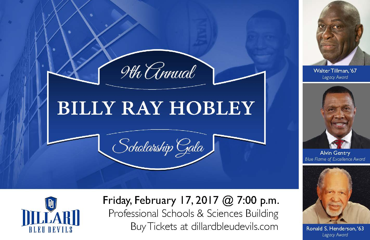 9th Annual Billy Ray Hobley Scholarship Gala large image