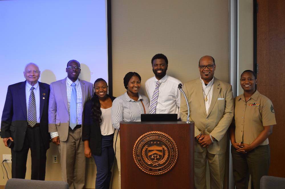 ATF Presenters and DU Students with Dr. Clark