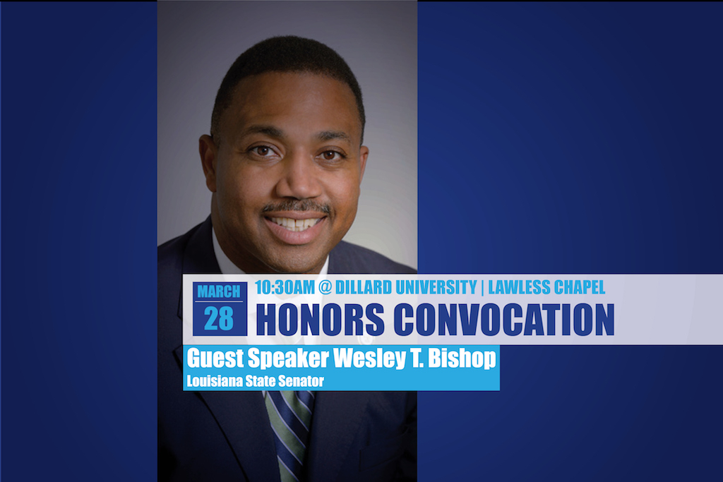 Wesley Bishop Honors Convocation 2017