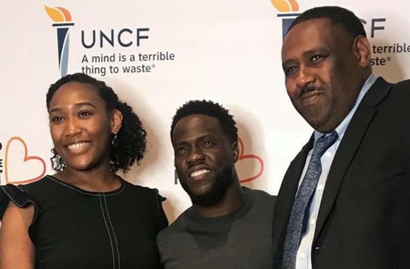 DU Student Awarded Scholarship by Kevin Hart's