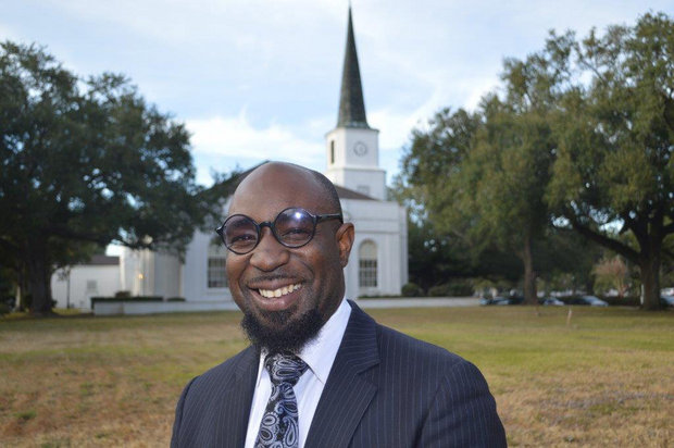 Rev. Earnest Salsberry as university chaplain