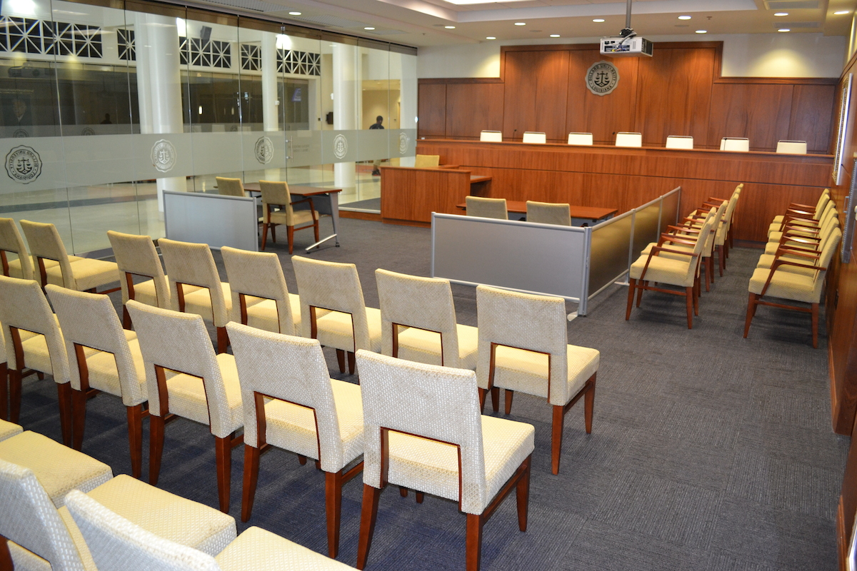 Justice Ortique Mock Trial Center