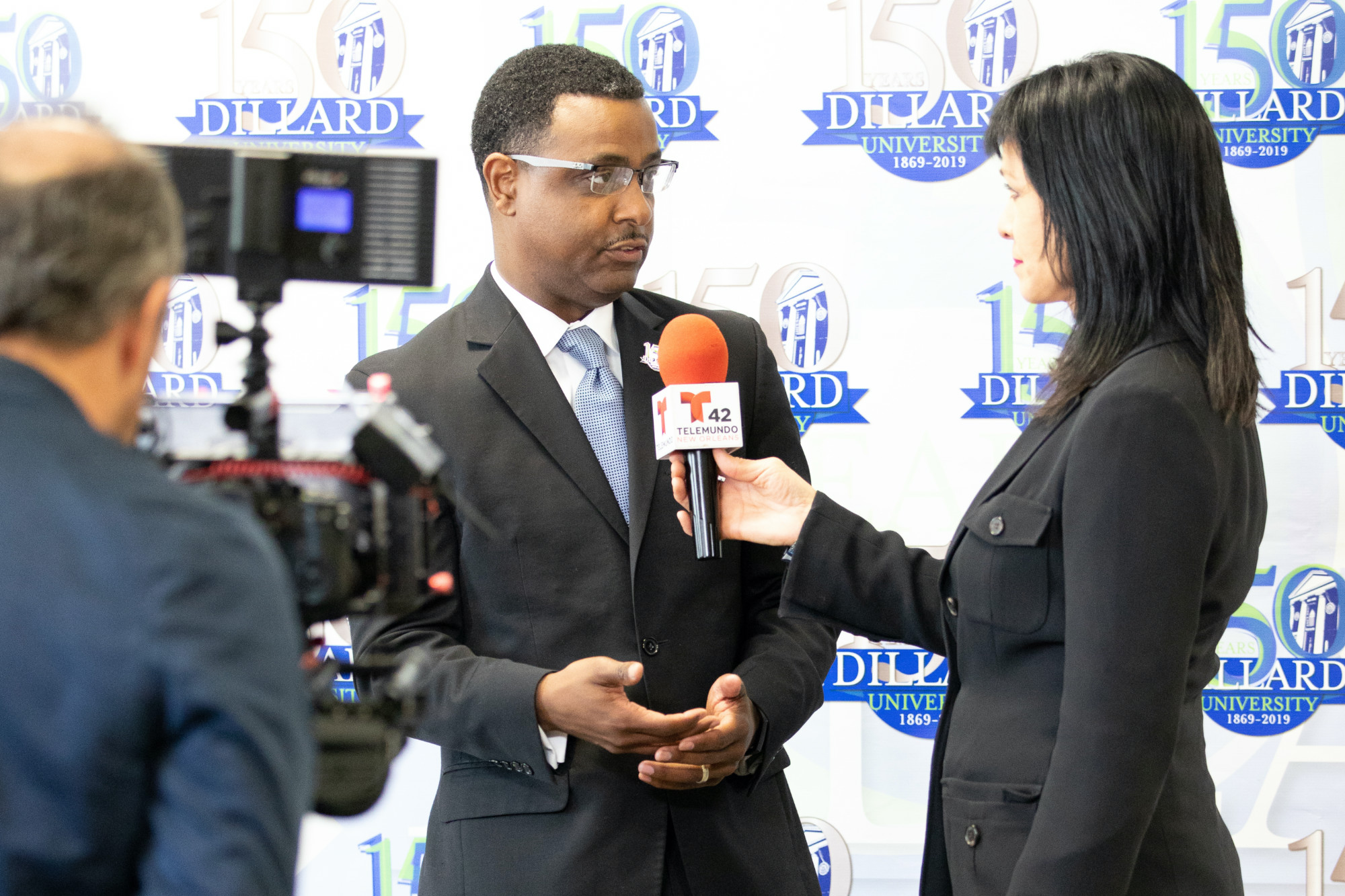 TV Interview with Dillard University's Dr. Marc Barnes