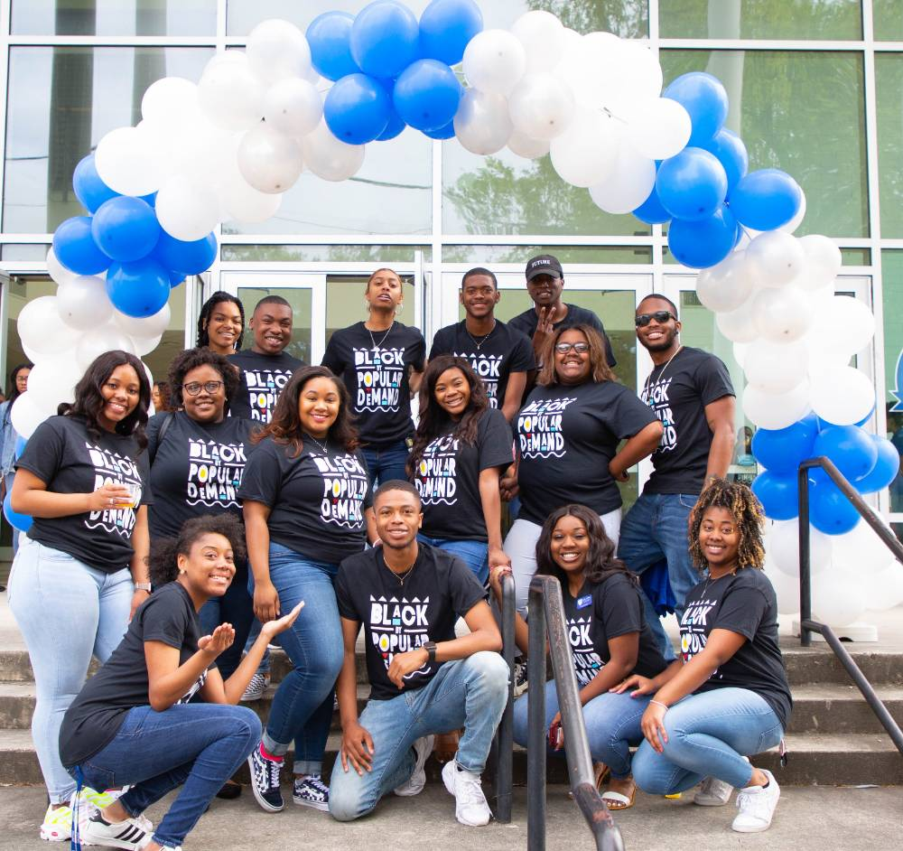 Dillard University Students at Decision Day