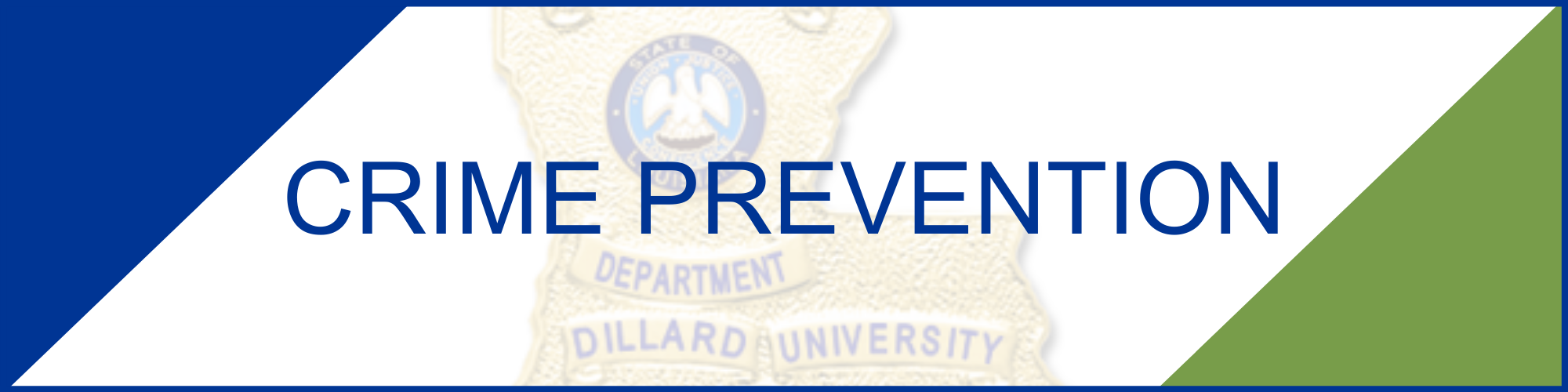 Crime Prevention Tips from DUPD